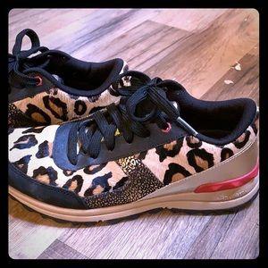 Leopard Sam Edelman sneakers